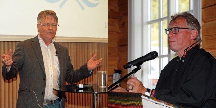 Bengt-Ove Nordgård og Hallgrim Berg. (Foto: Tor-Bjørn Nordgaard)