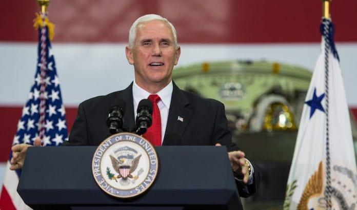 Visepresident Mike Pence. (Foto: Aubrey Gemignani/Flickr)