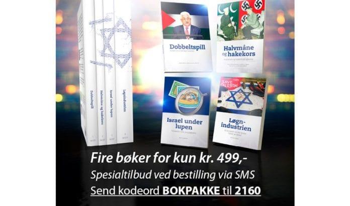 Fire bøker for kun 499,-