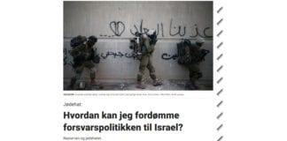 I et leserinnlegg i Dagbladet skriver Tonje Gjevjon at Israels sikkerhetstiltak er nødvendige. (Foto: Faksimile Dagbladet)