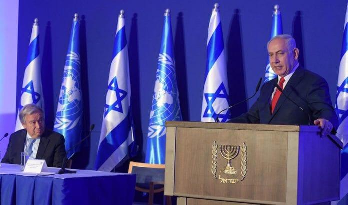 Benjamin Netanyahu og andre israelske politikere har bedt FN-sjef Antonio Guterres om hjelp. (Foto: Amos Ben Gershom/Flickr)