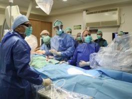 28. august utførte leger ved Rambam-sykehuset det eksperimentelle inngrepet. (Foto: Pioter Fliter, RHCC)