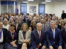 Benjamin Netanyahu møtte 33 medlemmer av den amerikanske kongressen i forrige uke. (Foto: Amos Ben Gershom/Flickr)