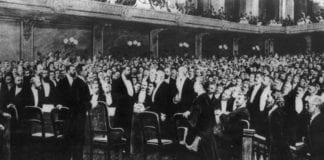 Den første zionistkongressen var på mange måter startsskuddet for staten Israel. (Foto: Wikipedia)