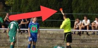 Palestinakomiteen må få rødt kort av Norway Cup-arrangørene. (Illustrasjonsfoto: Groundhopping Merseburg, flickr, montasje: MIFF)