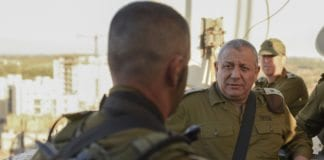 IDF-sjef Gadi Eizenkot vil ha færre soldater til å røyke i det israelske forsvaret. (Foto: IDF)