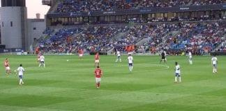 Israel og Norge møttes under U21-EM i Israel i 2013 (Foto: Geir Knutsen)