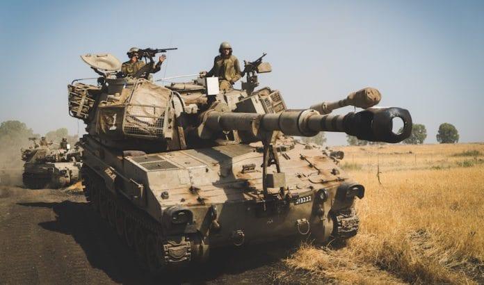 Store styrker deltar i den største militære øvelsen på nesten 20 år i Israel. Landet forbereder seg på krig mot Hizbollah. (Foto: IDF)