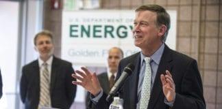 Guvernør i Colorado, John Hickenlooper, vil ikke samarbeide med anti-israelske selskaper. (Foto: Dennis Schroeder/Flickr)