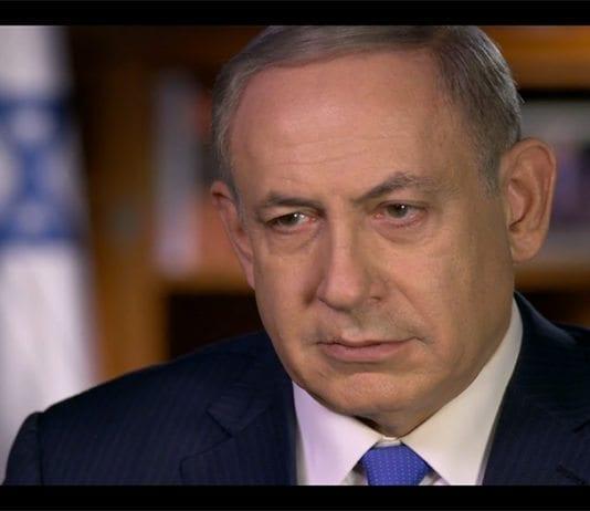 Benjamin Netanyahu blir intervjuet av Lesley Stahl (Foto: Skjermdump fra video/CBS)