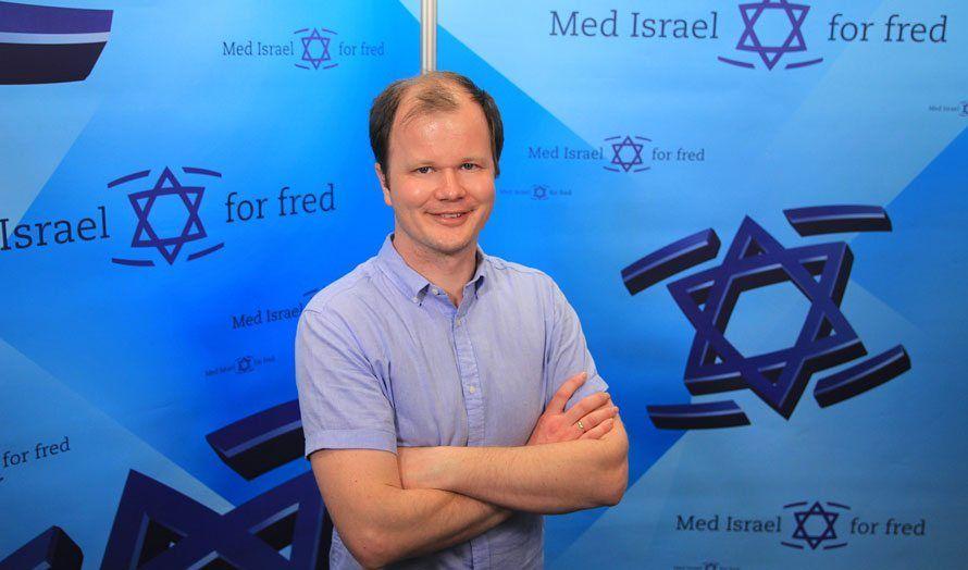 Conrad Myrland i MIFF Stavanger: Hvordan MIFFs arbeid for Israel gjør en forskjell