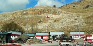 En kontrollpost for den libanesiske hæren. (Foto: Aldas Kirvaitis/Flickr)