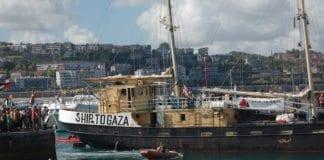 Skipet Estelle var i 2012 en del av flåten som ville bryte den israelske sjøblokaden. (Foto: Flickr)