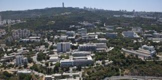 Området til Technion teknologiske institutt i Haifa. (Foto: Wikipedia)