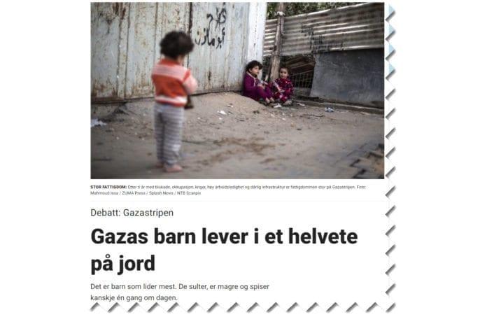Skjermdump fra Dagbladet.no.