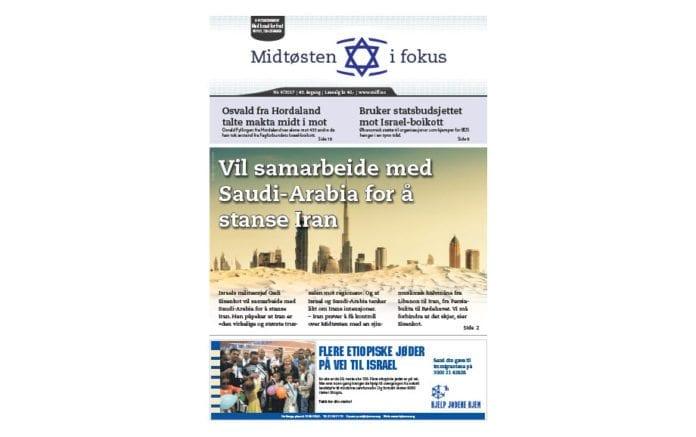 Midtøsten i fokus nr. 6/2017.