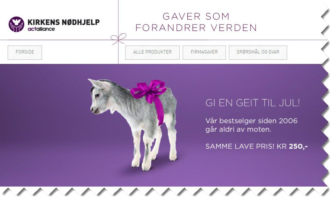 kjøp en geit
