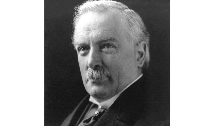 David Lloyd George var statsminister i Storbritannia fra 1916 til 1922.