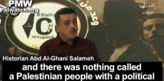 Abd Al-Ghani Salameh. (Skjermdump fra Youtube/PMW)