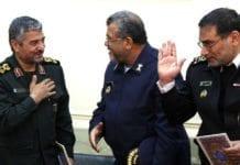 Irans øverste militære leder, Ali Jafari (t.v.), sier Israel vil utslettes i en ny Midtøsten-krig. (Foto: Parmida Rahimi/Flickr)