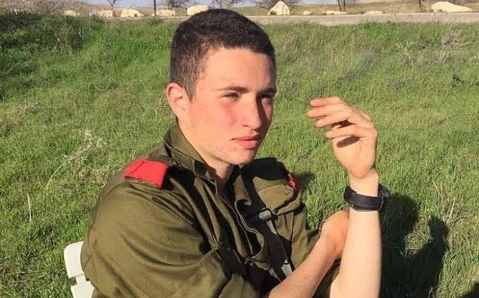 Det var den 19 år gamle soldaten Ron Yitzhak Kokia som ble drept torsdag kveld. (Foto: IDF)