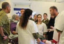 Israel behandler skadde syrere ved feltsykehus ved grensen. Her fra et annet feltsykehus i Israel. (Foto. IDF)
