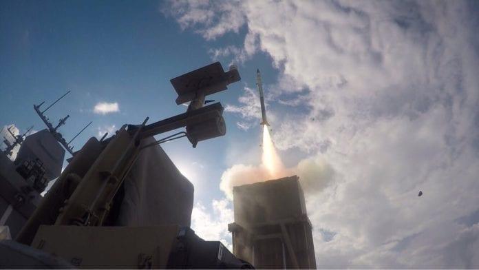 Israel har utviklet en maritim utgave av rakettskjoldet Iron Dome, for å beskytte gassfeltene i Middelhavet mot angrep. (Foto: IDF)
