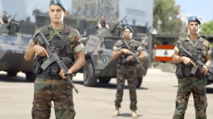 Libanons væpnede styrker har fått beskjed om å være forberedt på et angrep fra Israel. (Foto: Skjermdump YouTube)