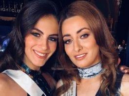 Miss Israel Adar Gandelsman (t.v.) og Miss Irak Sarah Idan poserte sammen. Det var det ikke alle som likte. (Foto: Instagram)