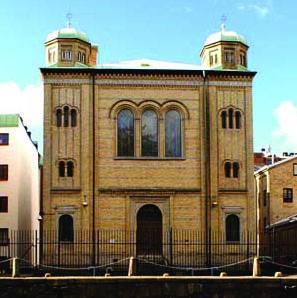Synagogen i Gøteborg. (Foto: Facebook)