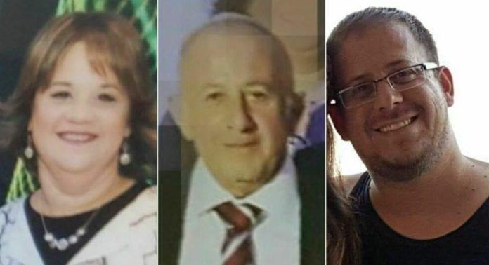 Chaya, Yosef og Elad Salomon ble knivstukket og drept i et brutalt terrorangrep i juli 2017. (Fotomontasje: Privat)