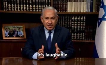 Statsminister Benjamin Netanyahu. (Foto: Skjermdump fra video)