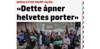 Skjermdump fra TV2.no, artikkel publisert 6. desember 2017.