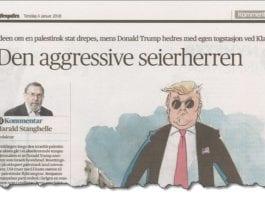 Faksmile av redaktør Harald Stanghelles kommentarartikkel i Aftenposten 4. januar 2018.