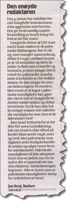 Faksmile av Jan Benjamin Rødners replikk 19. januar 2018.