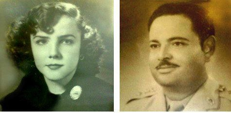Mark Halawas besteforldre, Rowaida og Mohammed. (Foto: Privat/Times of Israel)