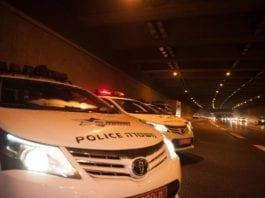 Store politistyrker deltok i den omfattende aksjonen mot det kriminelle miljøet. (Illustrasjonsfoto: Det israelske politiet)