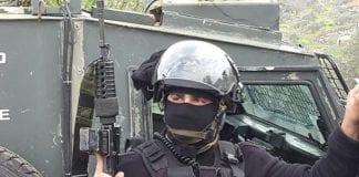 Den israelske politimannen major N. har stanset tre terrorforsøk siden 2014. (Foto: Det israelske politiet)