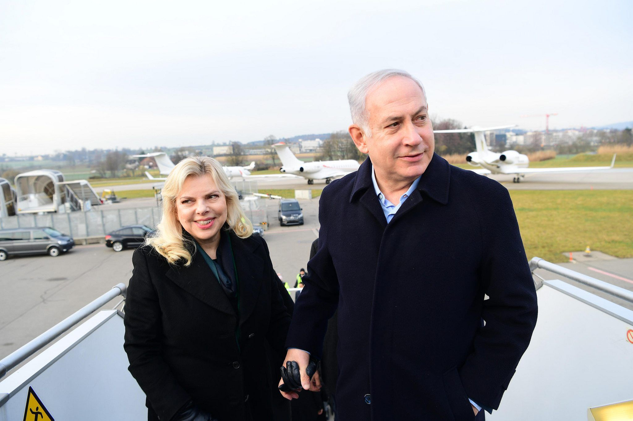 Benjamin Netanyahu advarer om Irans involvering i Libanon og Syria. (Foto: Amos Ben Gershom/Flickr)