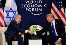 Netanyahu og Trump. (Foto: Amos Ben-Gershom, GPO)