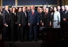 Benjamin Netanyahu møtte NATO-ambassadører i Jerusalem tirsdag 9. januar. (Foto: GPO/Flickr)
