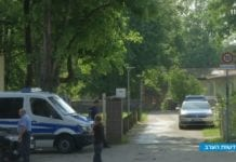 Dette er ett av stedene politiet oppsøkte i jakten på de ti iranerne. (Foto: Skjermdump fra Youtube/Kan)