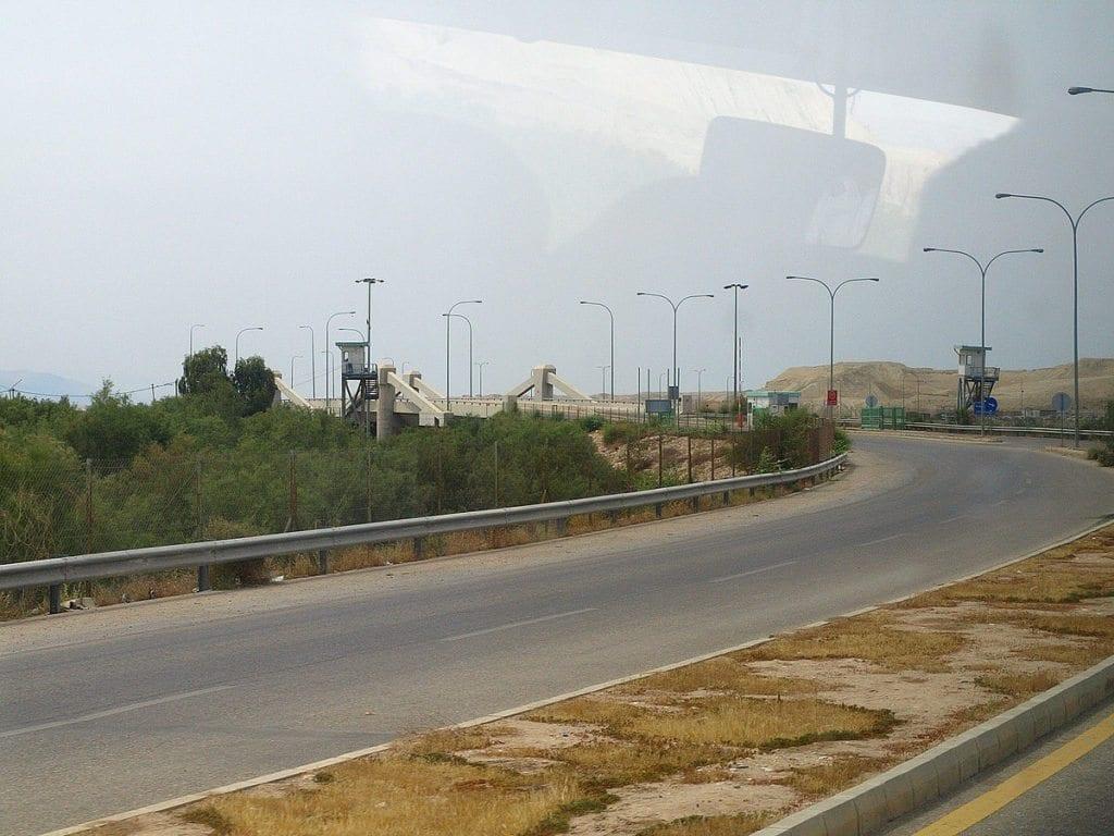 Allenby-broen på grensen mellom Israel og Jordan. (Foto: Wikipedia Commons)