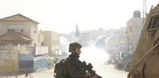 Israelske styrker leter etter en ettersøkt terrorist i området rundt Jenin. (Foto: Det israelske forsvaret)