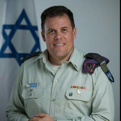 Talsmann for IDF, Jonathan Conricus. (Foto: Twitter)