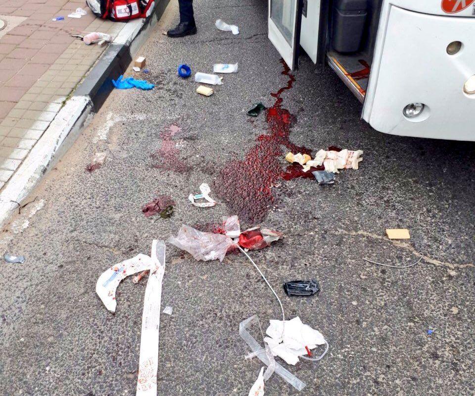 Politiet sier de tror knivstikkingen dreier seg om et terrorangrep. (Foto: Twitter)