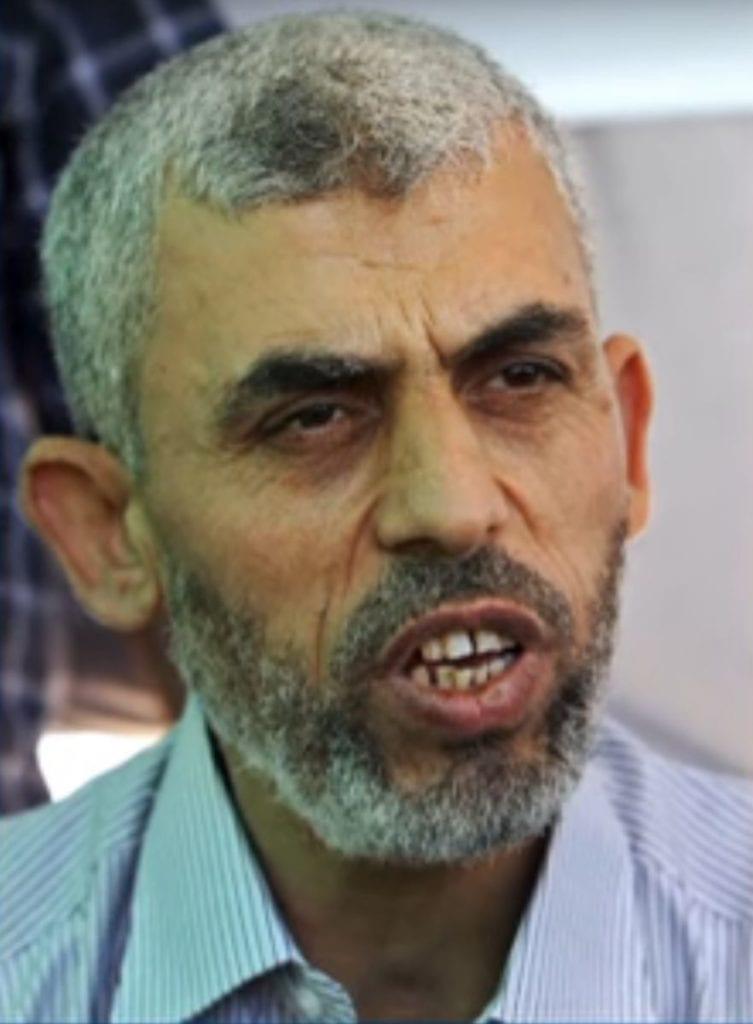 Yahya Sinwar er leder for Hamas på Gazastripen. (Skjermdump fra Youtube)