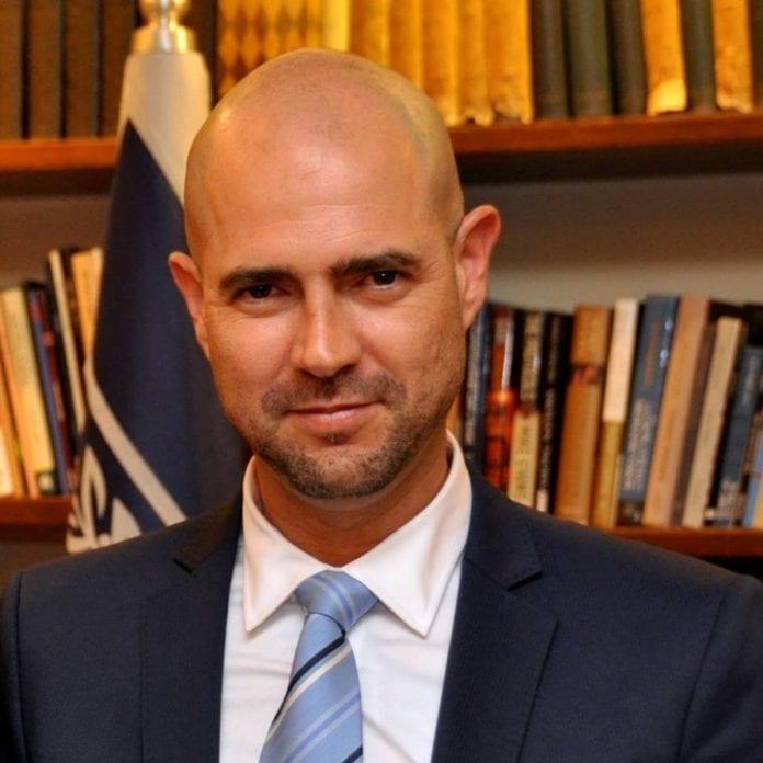 Knesset-medlem Amir Ohana. (Foto: Facebook)