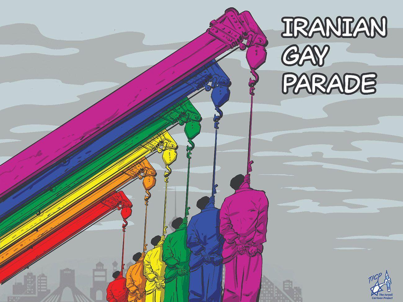 Utstillingen skal fokusere på menneskerettighetsbrudd i Iran, som henrettelse av homofile.
