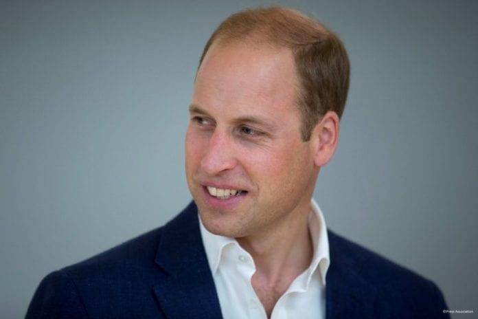 Prins William. (Foto: Twitter)